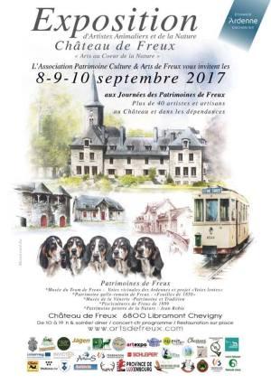Affiche Expo Freux fr 2017