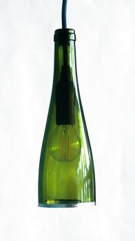 Bottle Lamp Basic - fil bleu