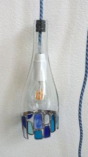 Lampe éclat bleu 1