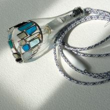 Lampe éclat bleu-violet 3