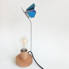 Lampe Papillon bleu 1 vue 3