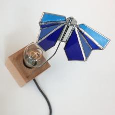 Lampe Papillon bleu 3 vue 3