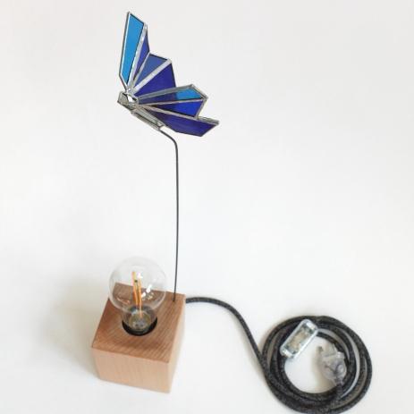 Lampe Papillon bleu 3 vue 5