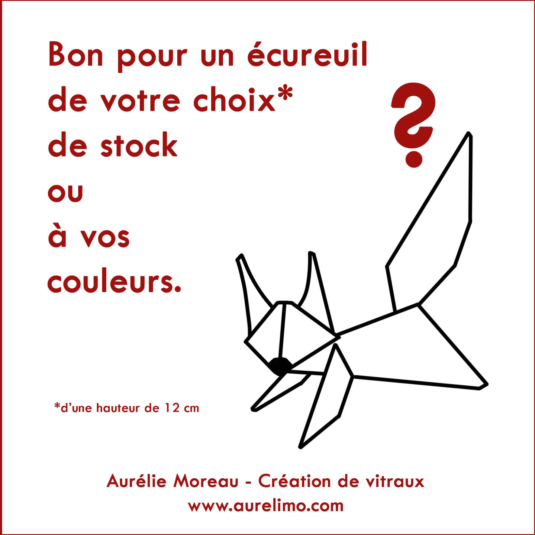 Bon pour un écureuil - Aurélie Moreau